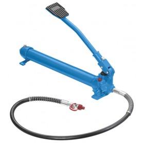 Pompa idraulica Fervi 0271 con comando a pedale pressione 63,7 Mpa