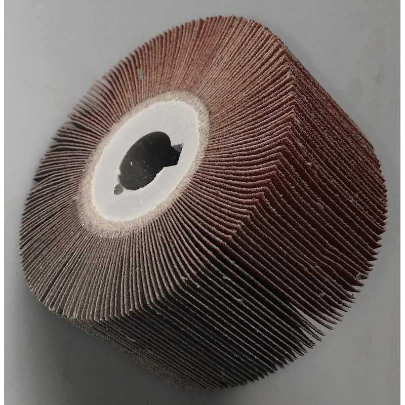 RUOTA LAMELLARE 100 X 50 G. 80 CORINDONE IN TELA