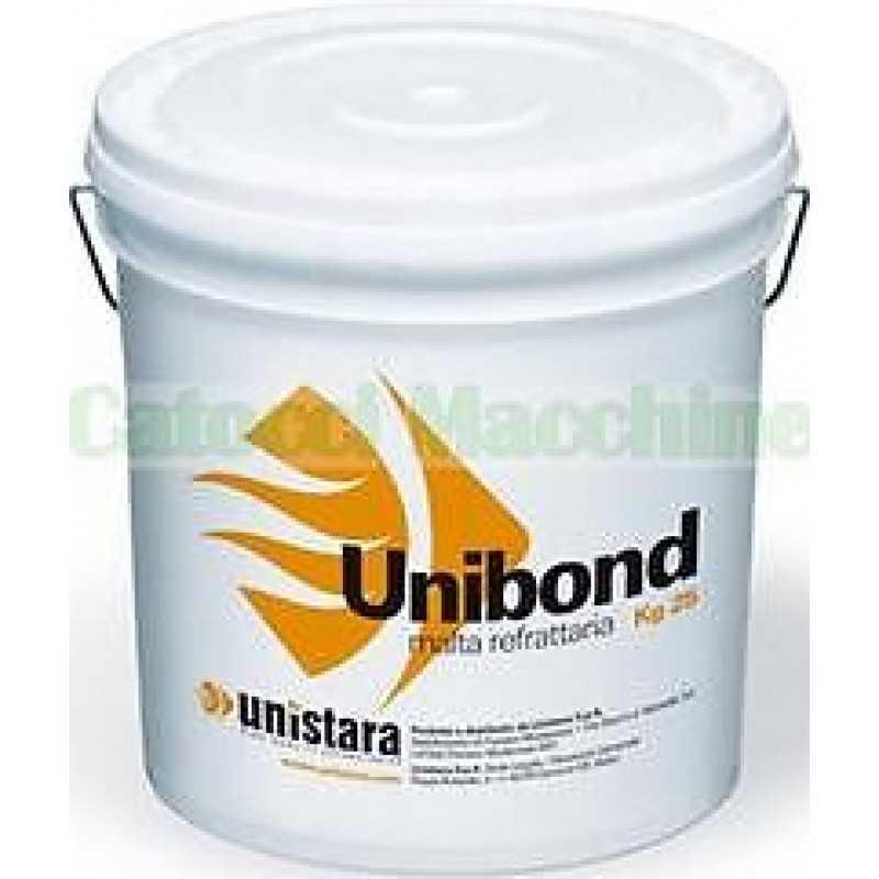 Cemento refrattario alluminoso in pasta pronto all'uso UNIBOND KG 25