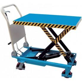 Carrello Fervi 0010 manuale regolabile in altezza portata 500 kg