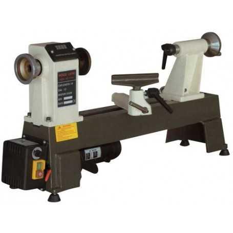 Tornio per legno da banco con regolazione elettronica for Tornio per legno con copiatore usato