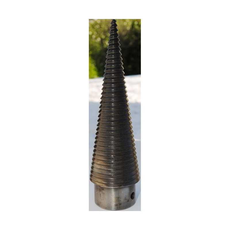 VITE ROTATIVA SPACCALEGNA DIAMETRO 70 mm TEMPERATA ORARIA