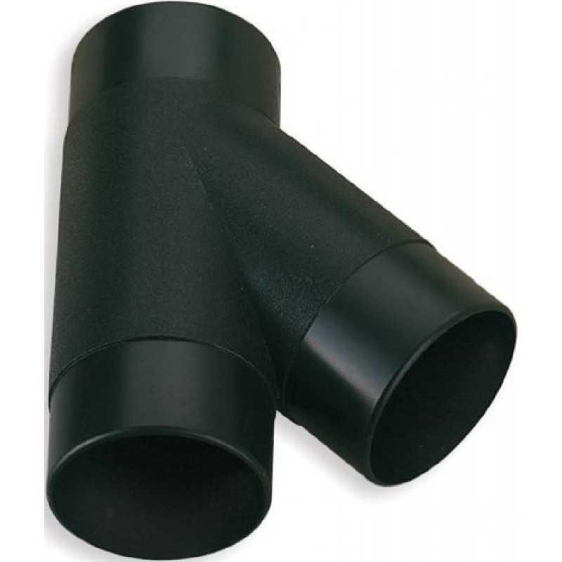 RACCORDO AD Y PER TUBI PER ASPIRATORI D. 100 mm FERVI 0756/Y