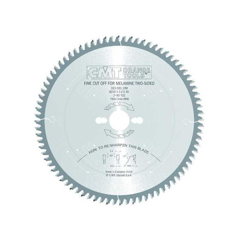 CMT 283.096.12M LAMA CIRCOLARE DIAMETRO 300 Z 96 TAGLIO BILAMINATO