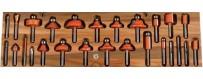 Punte fresatrici per legno